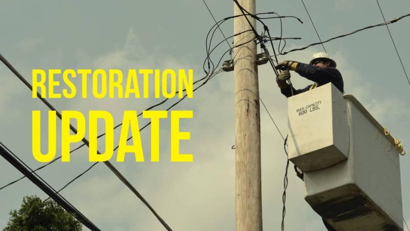 Restoration Update