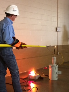 Longview Safety Day arc demo with jason howeth